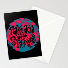 Take Acid With Strangers Stationery Cards