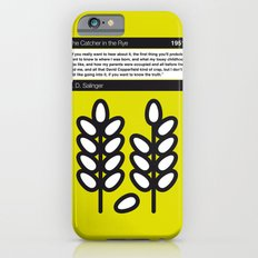 No016 MY The Catcher in the Rye Book Icon poster iPhone 6 Slim Case