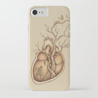 bird iPhone & iPod Cases featuring Tree of Life by Enkel Dika