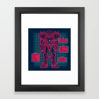 Varia Suit Framed Art Print
