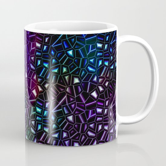 Midnight Rainbow Glitter Mug