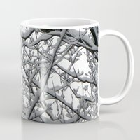 Snow Covered Branches Mug