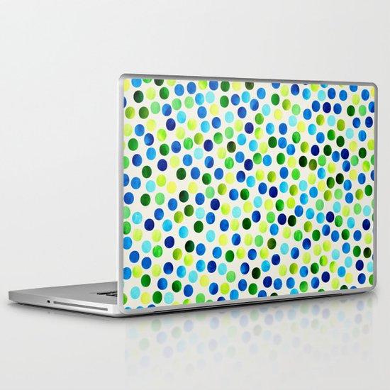 Dance Aqua by Jacqueline Maldonado & Garima Dhawan Laptop & iPad Skin