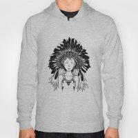 Native American Girl Hoody