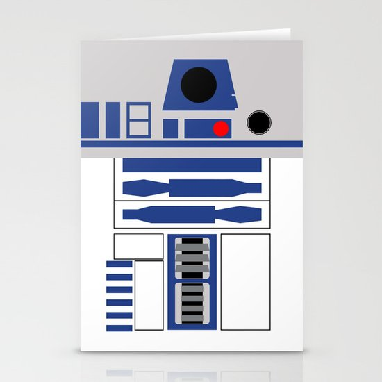 AstroMech Stationery Card