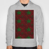 Christmas Red And Green … Hoody
