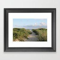10 Steps To Paradise Framed Art Print