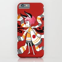 iPhone & iPod Case featuring Daemon Girl by Freeminds