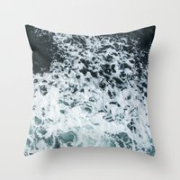 Ocean's glass Throw Pillow