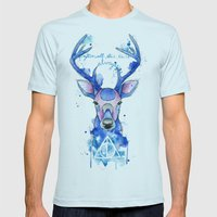 Always. Harry Potter patronus. Mens Fitted Tee Light Blue SMALL