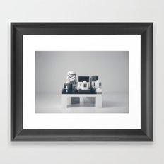 Nine to Five Framed Art Print