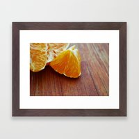 Nutritious and Delicious! Framed Art Print