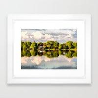 After Rain Framed Art Print