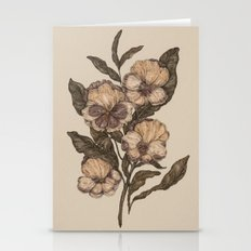 Pansy Stationery Cards