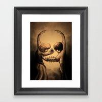 Dance Of Death Framed Art Print