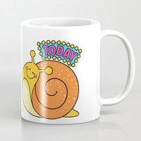 Save a Snail Today! Mug