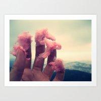 Sugar Cloud Art Print