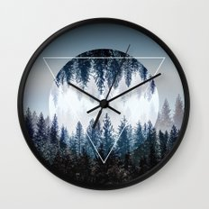 Woods 4 Wall Clock