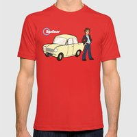 Top Gear Mens Fitted Tee Red SMALL