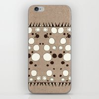 Rorschach Pyramids iPhone & iPod Skin