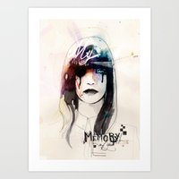 My Memory Of You Art Print