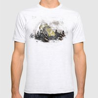 Where Is? Daddy Mens Fitted Tee Ash Grey SMALL