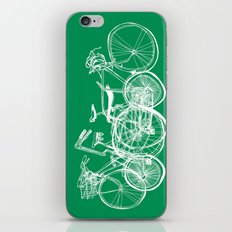 3bikes iPhone & iPod Skin