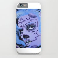 iPhone & iPod Case featuring Raquel Calavera by ByrneDarkly