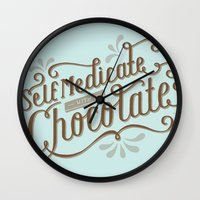 Chocolate RX Wall Clock