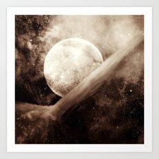 Planetary Soul Kai Old Film Art Print