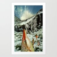 Splurge Art Print
