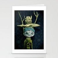 A Portrait Stationery Cards