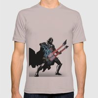 Darth Vader Force Guitar Solo Mens Fitted Tee Cinder SMALL