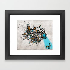 Opening Framed Art Print