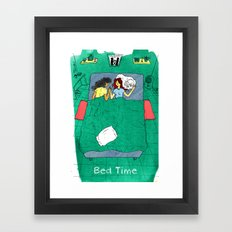 Bed Time #03 Framed Art Print