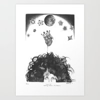 Cosmic Love Art Print