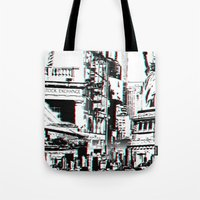 City That Inspires Tote Bag