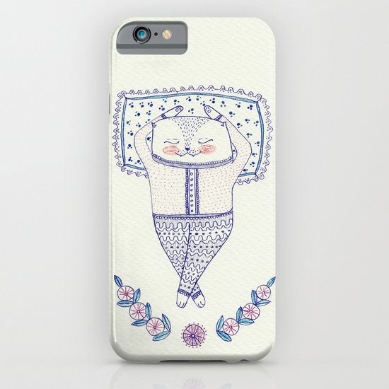 sleepy cat iPhone & iPod Case