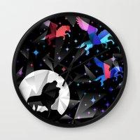 Magical Pegasus Wall Clock