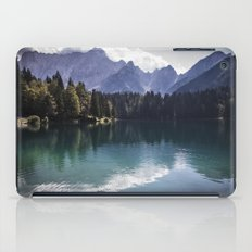 The lake in the mountains iPad Case