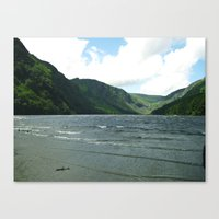 Mountain Sea Canvas Print