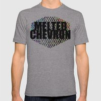 CHEVROMELT Mens Fitted Tee Athletic Grey SMALL