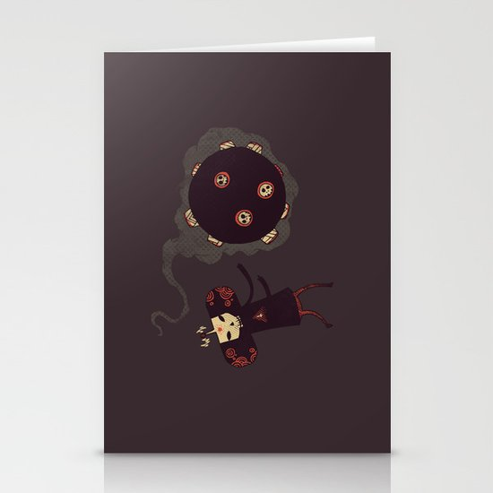 Katamari of the Dead Stationery Card