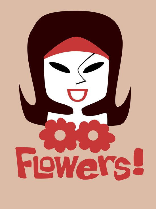 Flowers! Art Print
