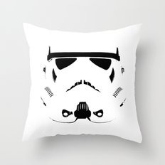 Storm Trooper Throw Pillow