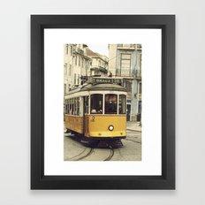 Tram numero 28 Framed Art Print