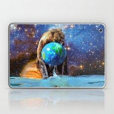 Give Planet Earth A Bear Hug! Laptop & iPad Skin