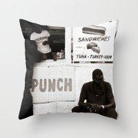 Shootin' The Shit Throw Pillow