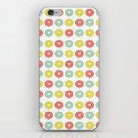 Balloon Hearts iPhone & iPod Skin