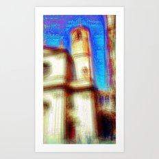 An other path to linger i.e. or heeding longer. 01 Art Print